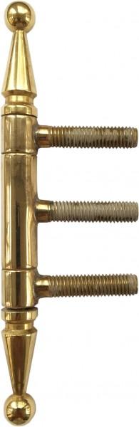Einbohrband 3-tlg Messing Dm 13mm H 145mm