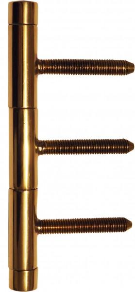 Einbohrband 3-tlg Messing Dm 15mm H 142mm